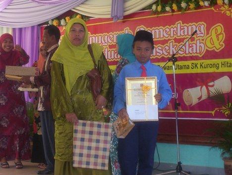 Anugerah Tokoh Murid ( Lelaki )