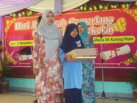 Anugerah Tokoh Murid ( Perempuan )