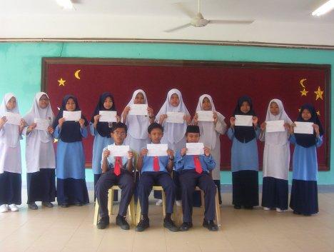 13 orang pelajar mendapat 5A. Tahniah
